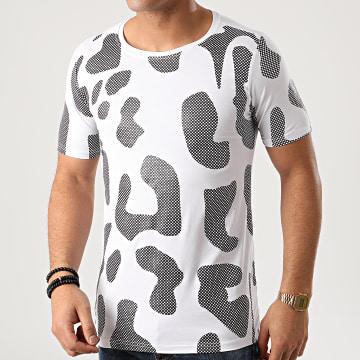 Berry Denim - Tee Shirt XP011 Blanc Noir