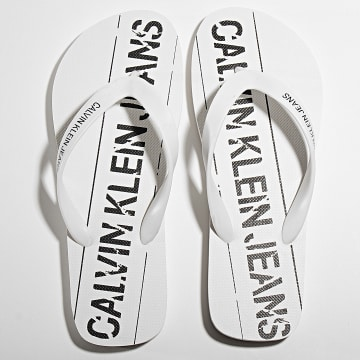 Calvin Klein - Tongs Edmur B4S0677 White Black