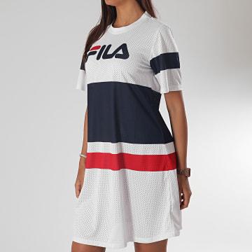 Fila - Robe Tee Shirt Femme Basanti 687498 Blanc