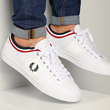 Fred Perry - Baskets B8185 White