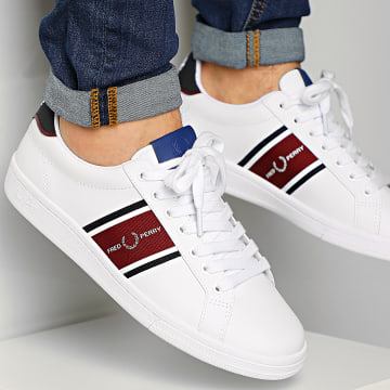 Fred Perry - Baskets B8301 White