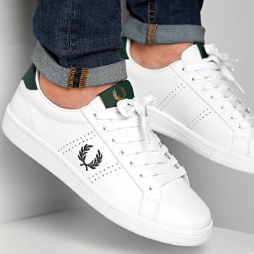 Fred Perry - Baskets B8321 White