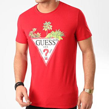 Guess - Tee Shirt M0GI76 Rouge