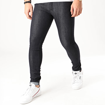 Jack And Jones - Jean Skinny Liam Original Bleu Brut
