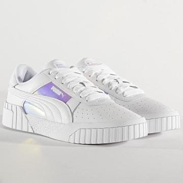 Puma - Baskets Femme Cali Glow 372563 Puma White Iridescent