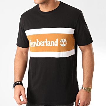 Timberland - Tee Shirt Cut And Sew Colorblock A22S1 Noir