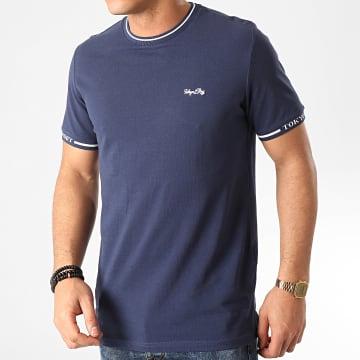 Tee Shirt Resin Bleu Marine