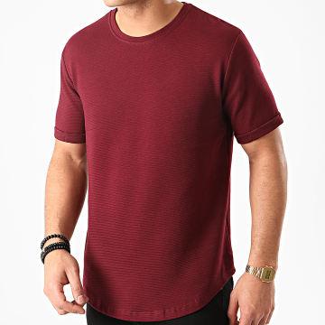 Aarhon - Tee Shirt Oversize 13813 Bordeaux