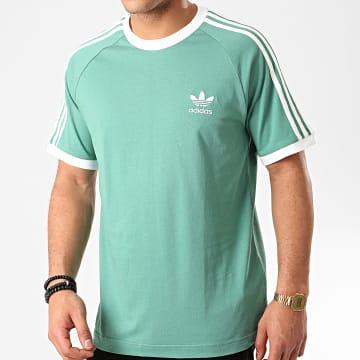 Tee Shirt A Bandes FM3771 Vert