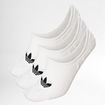 Adidas Originals - Lot De 3 Paires De Socquettes FM0676 Blanc