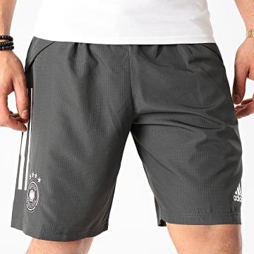 Short Jogging Allemagne Downtime FI0769 Noir