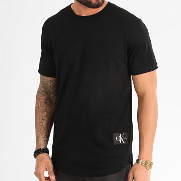 Calvin Klein - Tee Shirt Oversize Badge Turn Up 5319 Noir