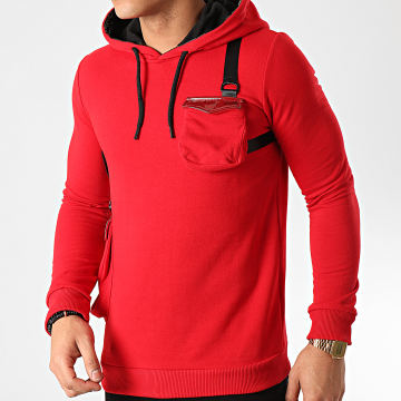 Classic Series - Sweat Capuche SW405 Rouge