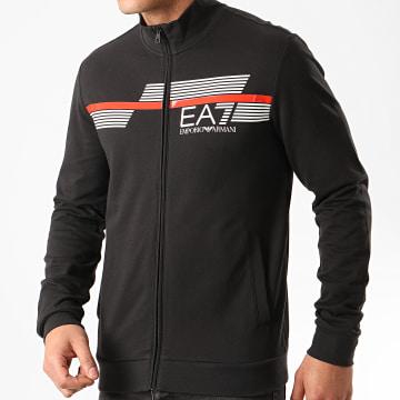 EA7 - Veste Zippée 3HPM51-PJ05Z Noir