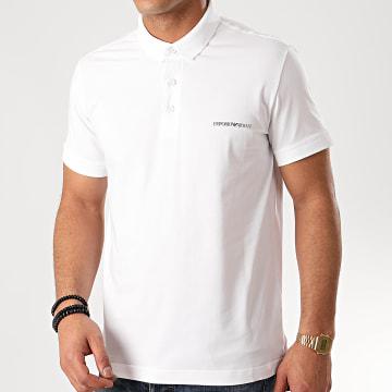 Emporio Armani - Polo Manches Courtes 211804-0P472 Blanc