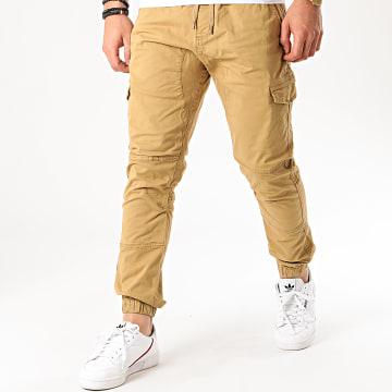 Indicode Jeans - Jogger Pant Levi Beige Foncé