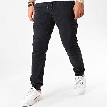 Indicode Jeans - Jogger Pant Levi Bleu Marine