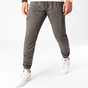 Indicode Jeans - Jogger Pant 5851S20 Gris Anthracite