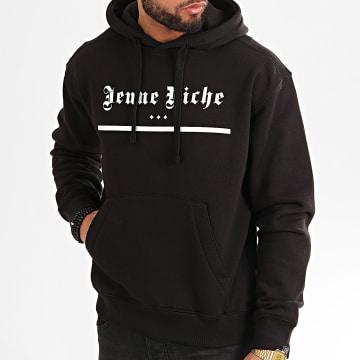Jeune Riche - Sweat Capuche Hood Noir