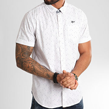 Chemise Manches Courtes Chacker Blanc