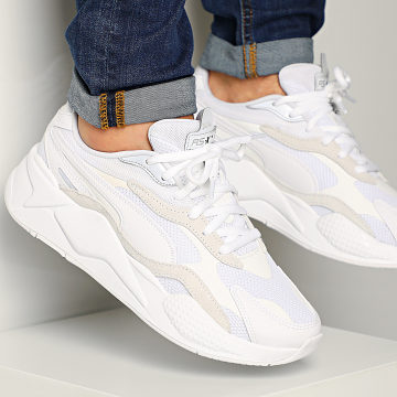 Baskets RS-X3 Puzzle 371570 Puma White Puma Silver