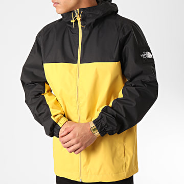 The North Face - Coupe-Vent A Capuche Mountain Q CR3Q Noir Jaune