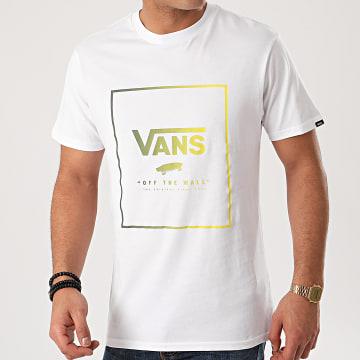 Vans - Tee Shirt Print Box A312SYNL Blanc