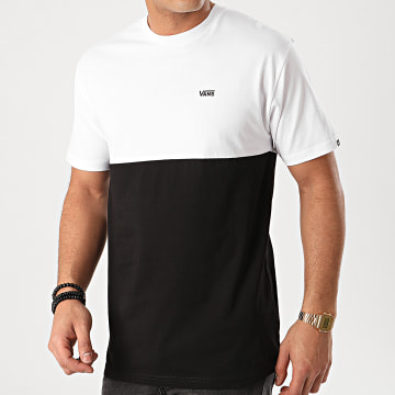 Vans - Tee Shirt Colorblock A3CZDY28 Blanc Noir