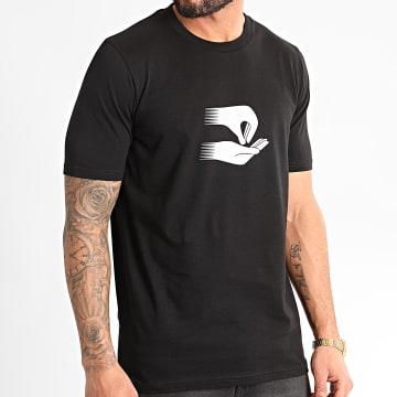 Tee Shirt Noir Argenté