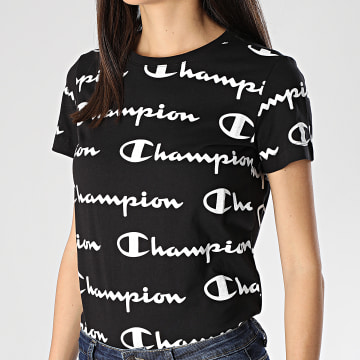 Tee Shirt Slim Femme 112603 Noir