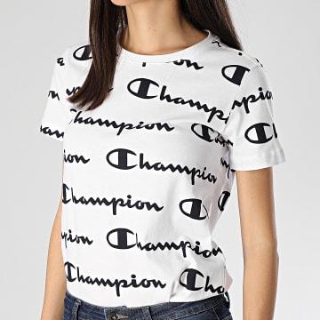 Tee Shirt Slim Femme 112603 Blanc