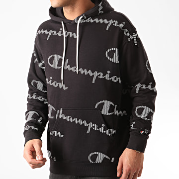 Sweat Capuche 214156 Noir