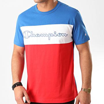 Tee Shirt 214244 Bleu Roi Blanc Rouge