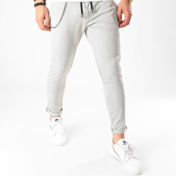 Pantalon PAK-401 Gris Chiné