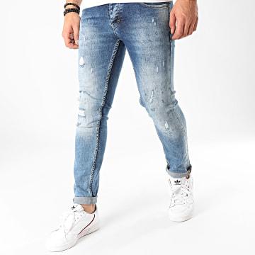 Jean Slim 160 Bleu Denim
