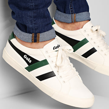 Gola - Baskets Varsity CMA331 Off White Black Green