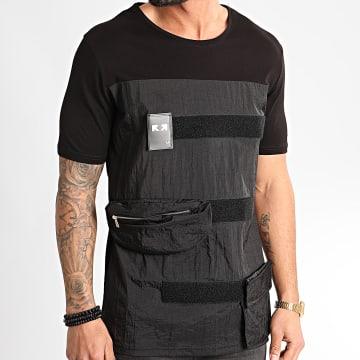 Ikao - Tee Shirt Poches F859 Noir