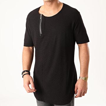 Ikao - Tee Shirt Oversize F857 Noir