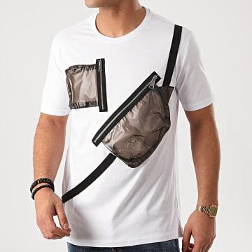 Ikao - Tee Shirt Poches F881 Blanc