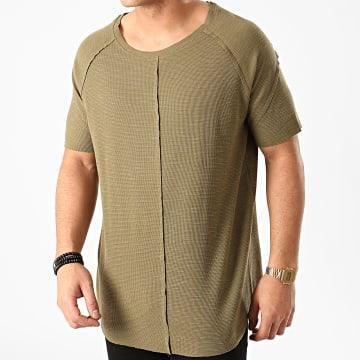 Ikao - Tee Shirt Oversize F858 Vert Kaki