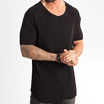 Ikao - Tee Shirt Oversize F858 Noir