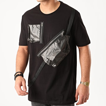 Ikao - Tee Shirt Poches F881 Noir