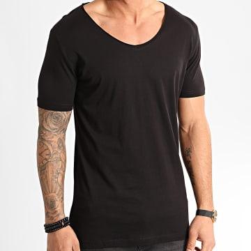 Ikao - Tee Shirt Col V F850 Noir