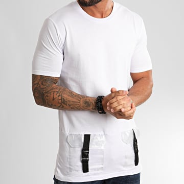 Ikao - Tee Shirt F886 Blanc