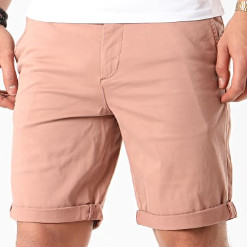 Jack And Jones - Short Chino Slim Bowie Rose Poudré