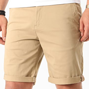 Short Chino Slim Bowie Camel