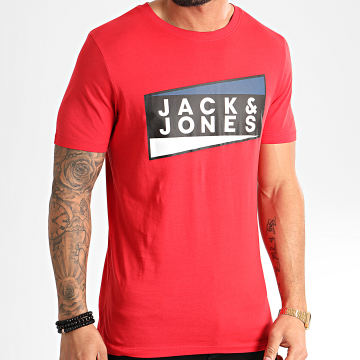 Jack And Jones - Tee Shirt Shaun Rouge