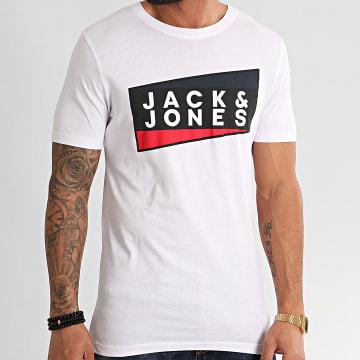 Jack And Jones - Tee Shirt Shaun Blanc