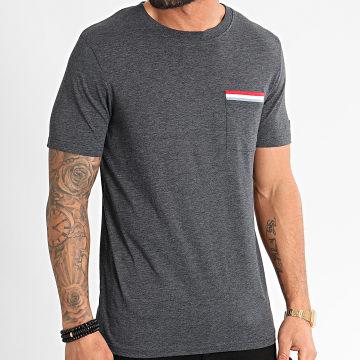 Tee Shirt Poche Carlos Bleu Marine