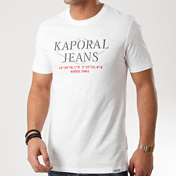 Kaporal - Tee Shirt Tito Blanc